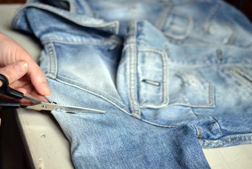 Convertir chaqueta en chaleco - Ropa DIY 450eaf9af9c0
