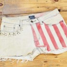 customizar jeans shorts
