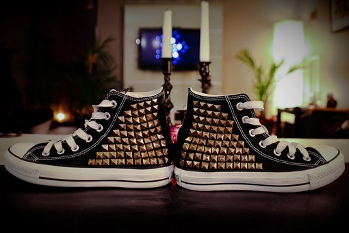 Customizar zapatillas Converse