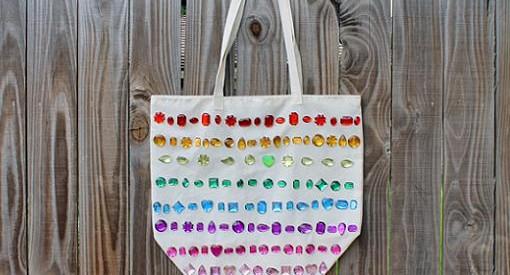 decorar bolsos de tela