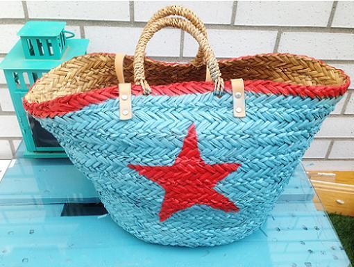 Decorar bolsos playeros ropa diy - Como adornar cestas de mimbre ...