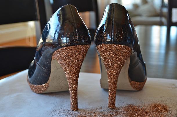 Decorar Zapateria ~ Decorar zapatos con glitter o purpurina es la manera m?s f?cil de