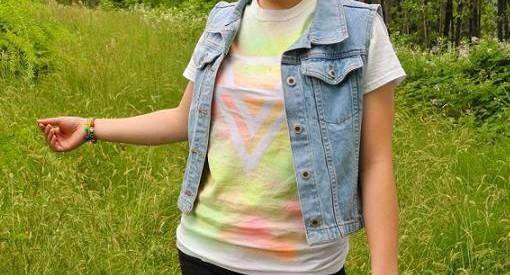 pintar camiseta con spray