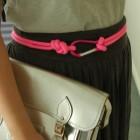 Cinturón de cuerda