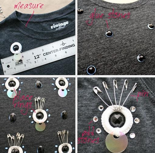 Cómo decorar una camiseta básica