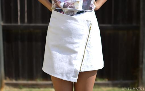 como hacer la falda skort