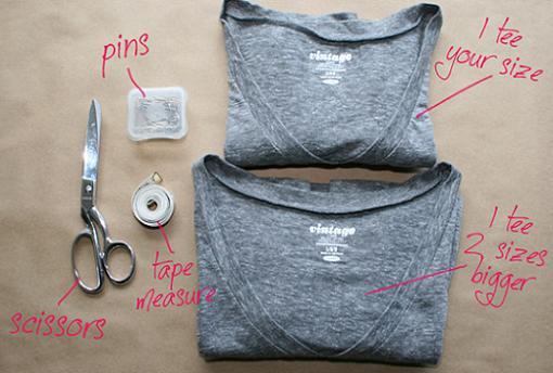 convertir-camiseta-en-vestido-1
