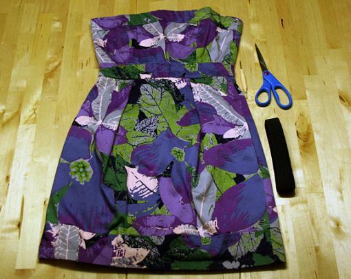 convertir-vestido-en-top-y-falda-1