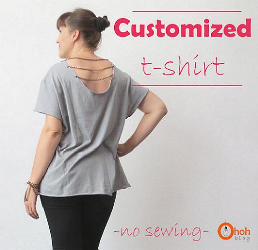 customizar camisetas con abalorios en la espalda