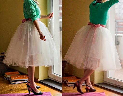 hacer una falda tutu
