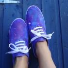 Pintar unas zapatillas Victoria