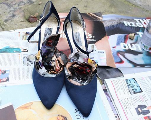 2a1beec3 Pintar zapatos de otro color - Ropa DIY