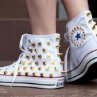 zapatillas converse diy con tachuelas