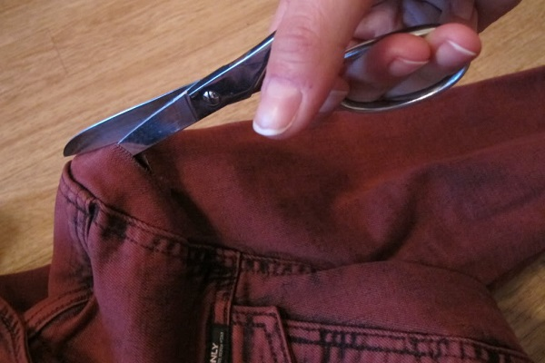 Cómo cortar un chaleco