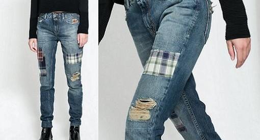 como hacer pantalones vaqueros grunge