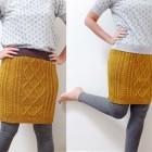 Reciclar un jersey en falda