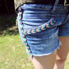 Customizar shorts vaqueros