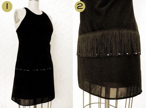 Customizar vestido negro