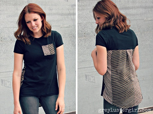 Renovar camiseta negra