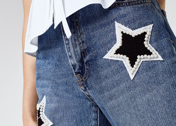 Ideas Geniales Para Transformar Pantalones Vaqueros Con Perlas